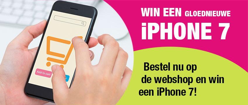 Win een gloednieuwe iPhone 7