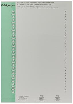 Elba ruiterstrook type 9, vel met 31 etiketten, groen