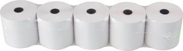 Thermorol BPA-vrij, ft 57 mm, diameter +- 65 mm, asgat 12 mm, lengte 50 meter