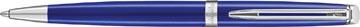 Waterman balpen Hémisphère Bright Blue met palladium detail