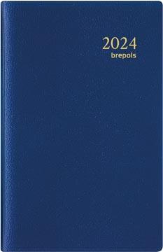 Brepols agenda Delta Genova 6-talig, blauw, 2022