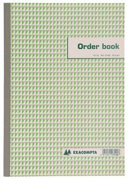 Exacompta orderbook, ft 29,7 x 21 cm, dupli (50 x 2 vel)