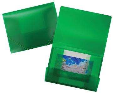 Beautone elastomap Frosted groen