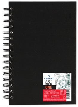 Canson schetsblok 'Art book One' 80 vellen 21,6 x 27,9 cm