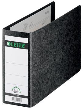 Leitz 180° kartonnen ordner ft A5 dwars, rug van 7,7 cm, zwart