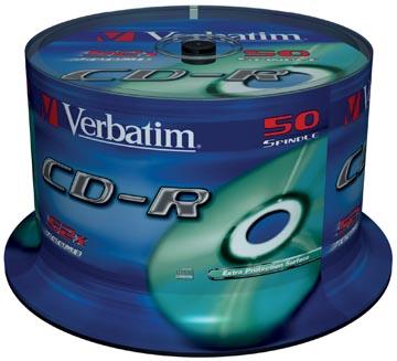 Verbatim CD recordable Extra Protection, spindel van 50 stuks