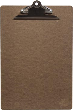 Securit menukaart Clipboard, ft 34 x 23 cm, uit hout