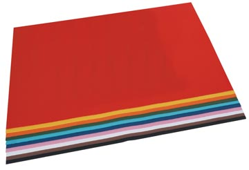 Folia fotokarton geassorteerde kleuren