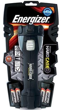 Energizer zaklamp Hard Case, inclusief 4 AA batterijen, op blister