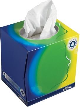 Kleenex gezichts tissues, doos van 56 tissues