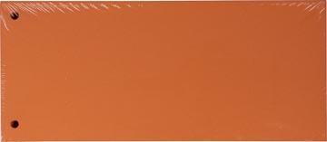 Pergamy verdeelstroken, pak van 100 stuks, oranje