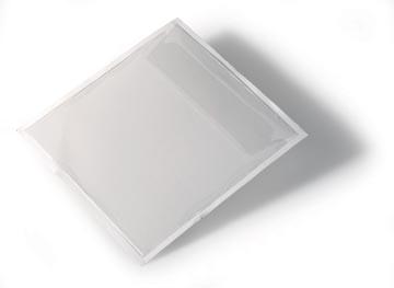 Durable Zelfklevende CD/DVD-tas Pocketfix 10 stuks
