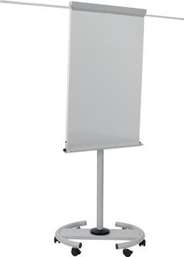 Bi-Office mobiel flipchart grijs