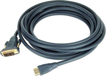 Cablexpert kabel HDMI naar DVI kabel, 1,8 m