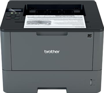 Brother zwart-wit laserprinter HL-L5100DN