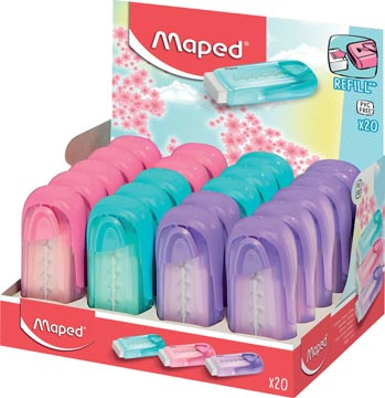 Maped gum Universal Collector, pastel kleuren