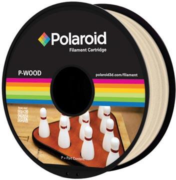Polaroid 3D Universal P-Wood filament, 500 g