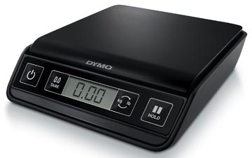 Dymo postweegschaal M1, weegt tot 1 kg, gewichtsinterval van 1 gram