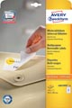 Avery Zweckform L6023REV-25 afneembare etiketten ft 63,5 x 38,1 mm (b x h), 525 etiketten, wit